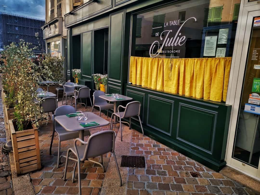 Restaurants à Chartres : table de julie