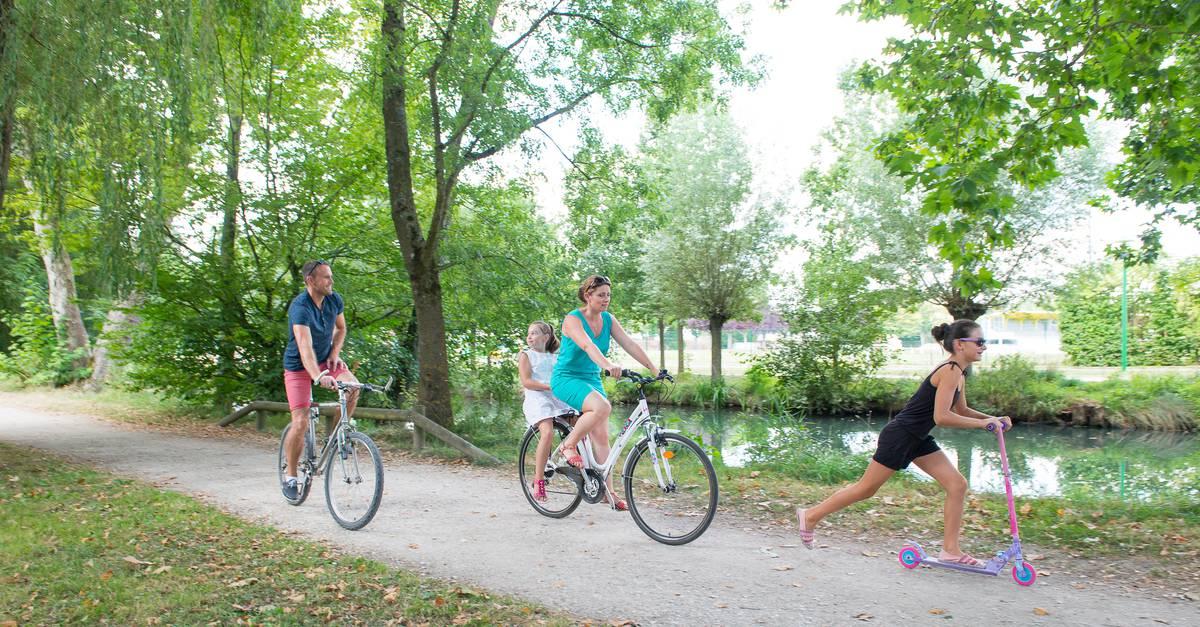 Faire du vélo à Chartres