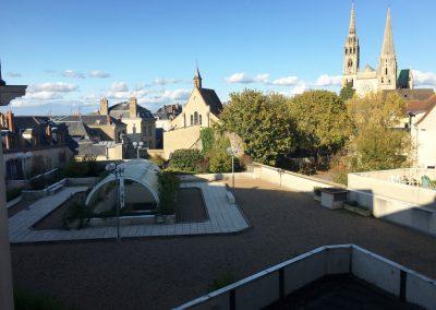 Gite à Chartres avec vue Cathédrale