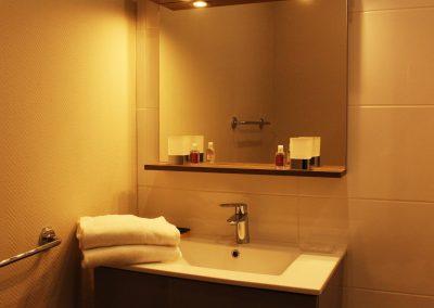salle de bain gite fulbert à chartres